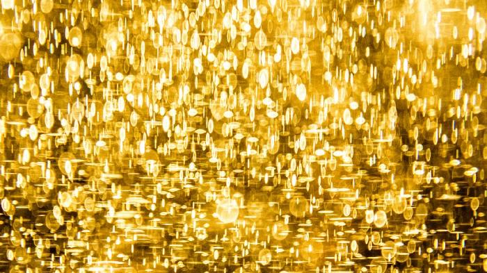 Golden sparcle